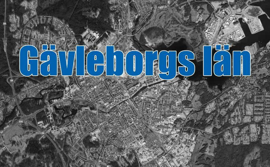 Blåljus Gävleborgs län.