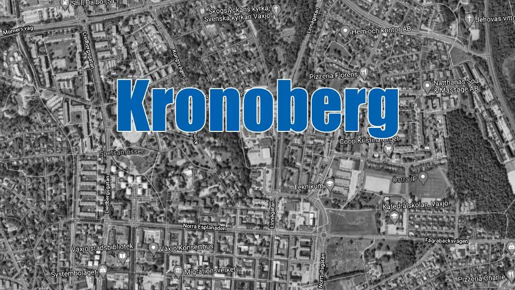 Senaste blåljusen i Kronoberg.