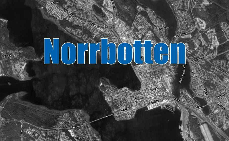 Alla blåljus för hela Norrbotten.