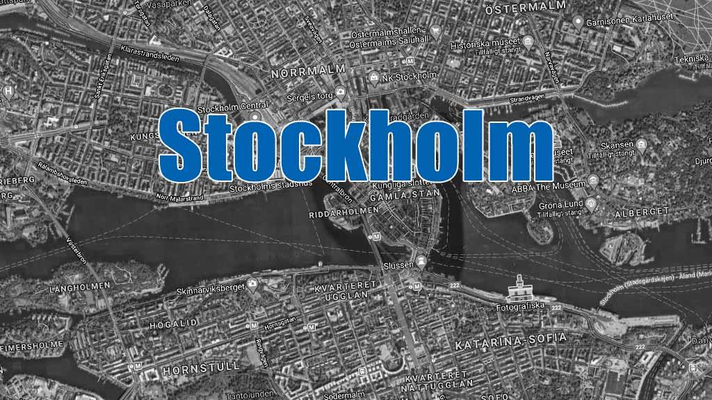 Senaste blåljusen i Stockholm.