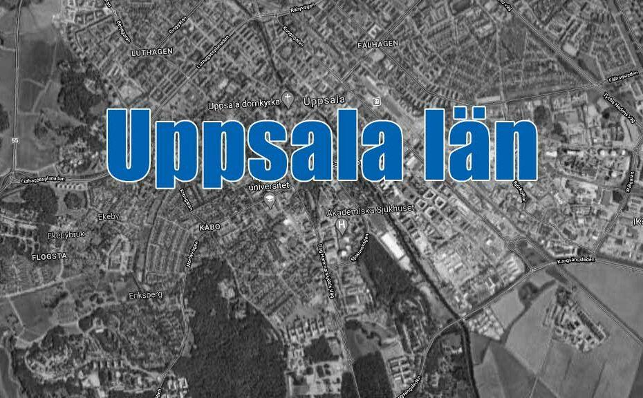 Blåljus Uppsala län.