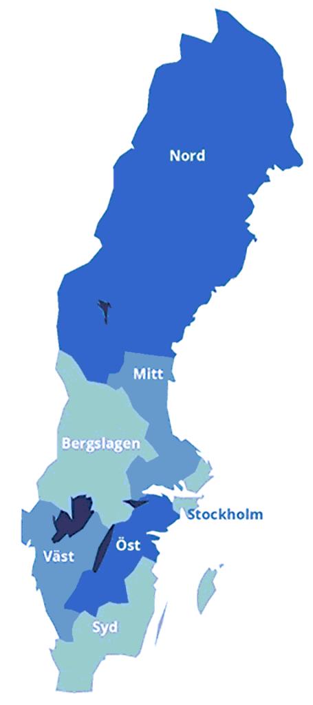 Sveriges polisregioner