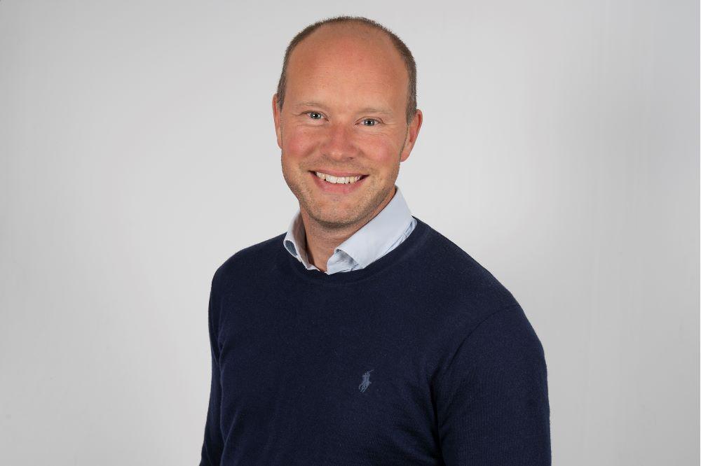 Niclas Gerdbo, chef för PKC Syd, kan vinna priset som årets innovativa ledare vid Chefsgalan den 11 mars.