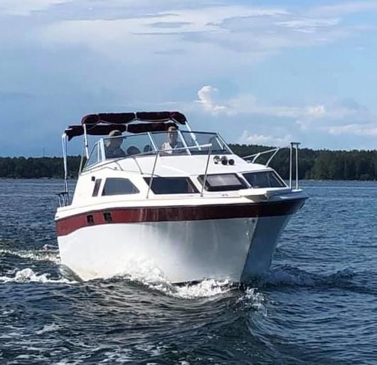 Bayliner på trailer stulen från Djupvik i Söderhamn