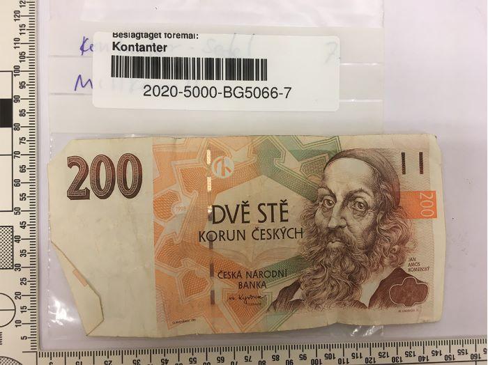 Fotografi på utländsk valuta.
