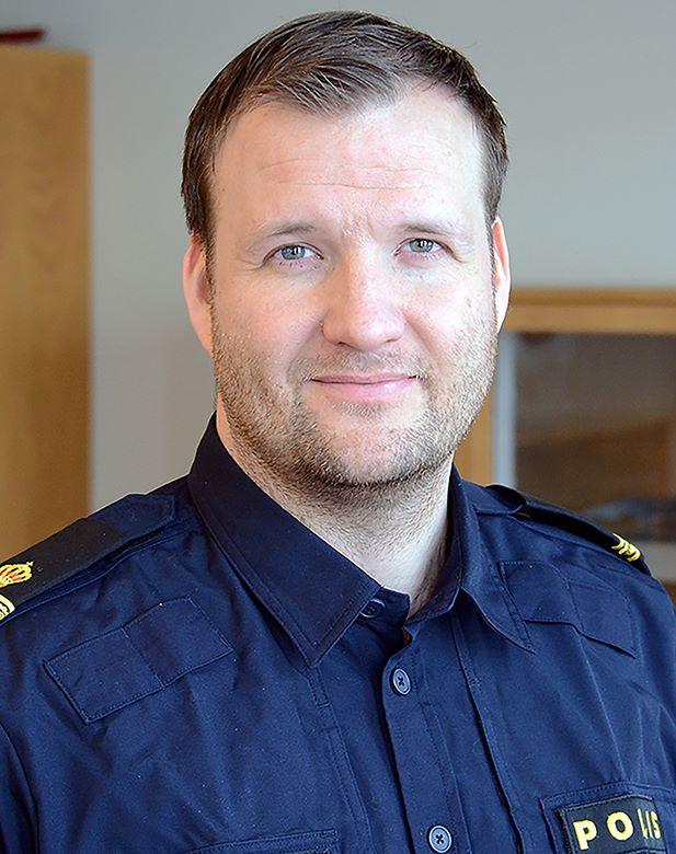 Rikard Ödmark, kommunpolis Lpo södra Ångermanland