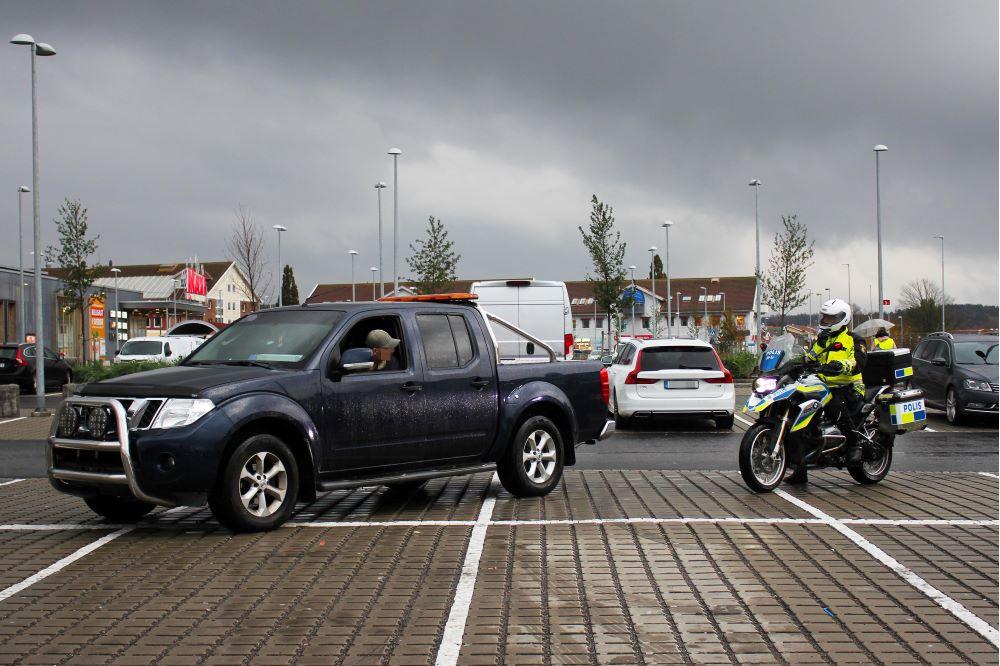 Trafikrelaterad brottslighet är en stor del av problembilden i Kungälv/Ale och åtgärden är en del av polisens medborgarlöfte.