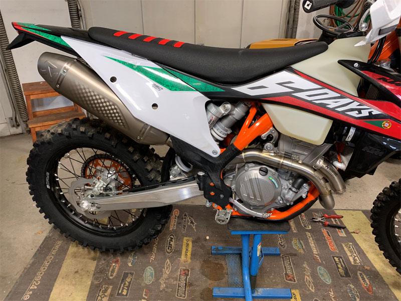KTM 350 EXC-F stulen norr om Örebro
