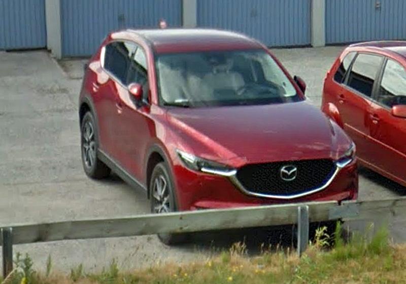 Röd metallic Mazda CX-5 2.5 SKYACTIV-G AWD stulen i Oxie, Malmö