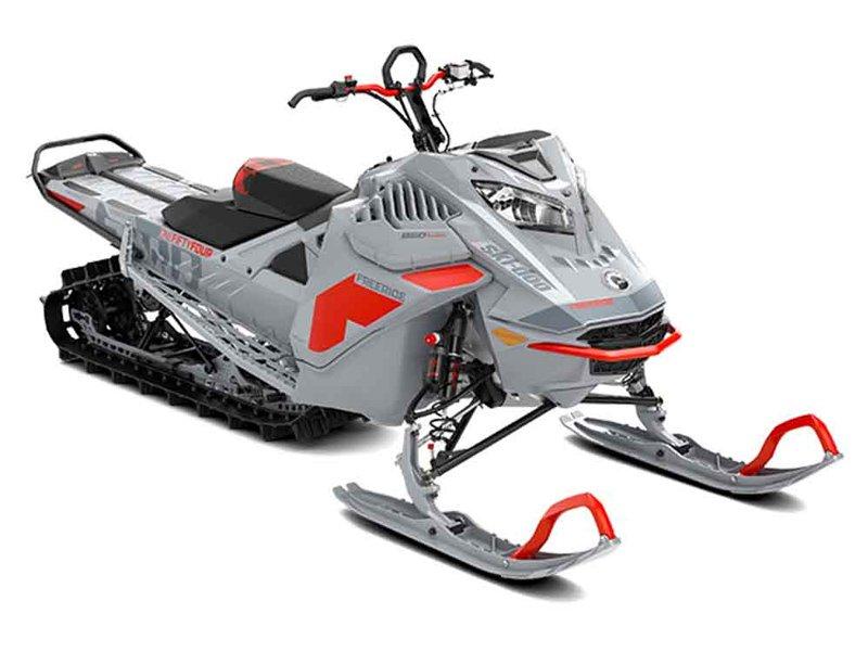 Snöskoter Ski Doo Freeride 154 850 E-Tec Turbo stulen i Boda Kyrkby norr om Rättvik