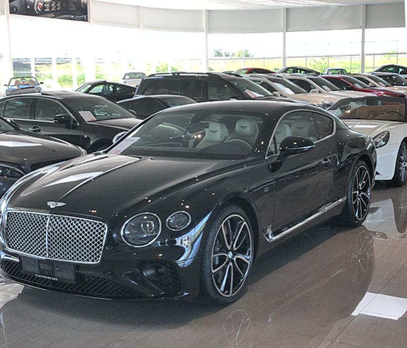 Svart Bentley Continental GT Speed (nya modellen) stulen i Djursholm norr om Stockholm