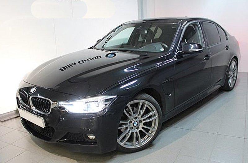 Svart BMW 330E IPerformance sedan stulen i Kinna
