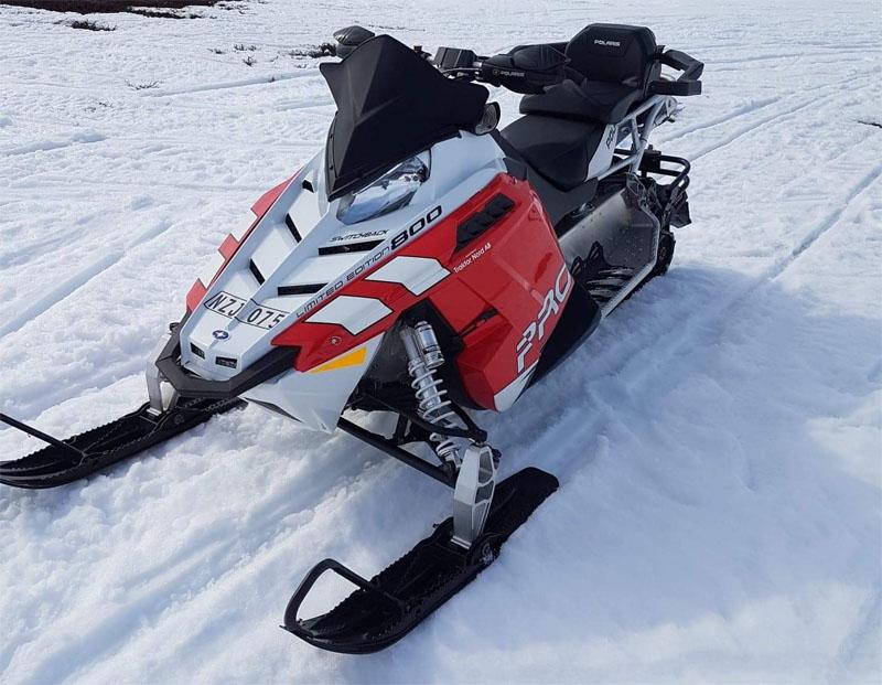 Snöskoter Polaris 800 Switchback stulen i Offerdal