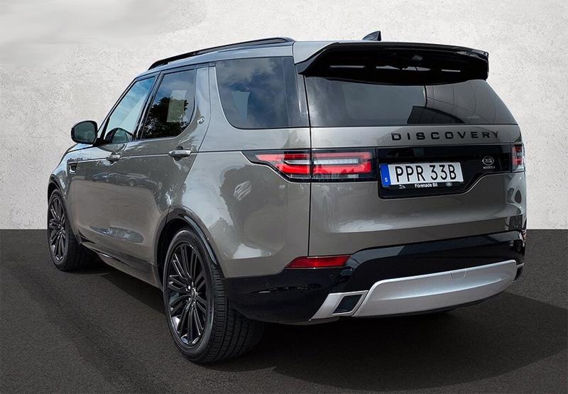 Land Rover Discovery stulen på Östermalm i centrala Stockholm