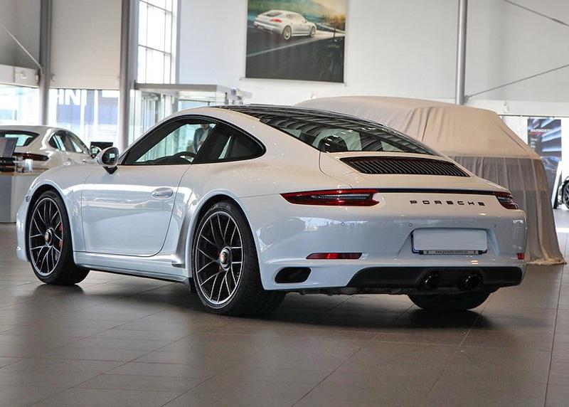 Vit Porsche 911/ 991 Carrera GTS stulen i Gislaved